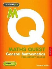 Maths Quest...General Mathematics...Preliminary Course...Student Text Book...