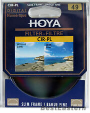Hoya 49mm Slim CPL Circular Polarizing / Polarizer CIR-PL