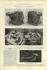 1922 Owen Gold Leaf Electrocope worm gear Generating Machine Smith Coventry