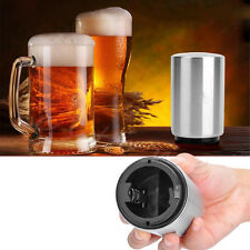 Stainless Steel Automatic Bar Bottle Glass Opener Beer Soda Cap Wine Open Tool