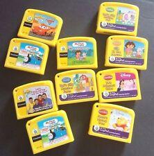 Ten Leap Frog My First Leap Pad Games Lot Cartridges Disney Princess, Dora, Pooh