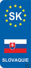 2 Stickers Europe SLOVAQUIE