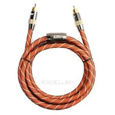 1.5M High Performance Digital Coaxial Interconnect Cable Audio/Video RCA  E0Xc