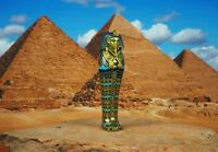 Egypt Egyptian Civilization Pyramid Pharaoh King Tut Mummy Statue Figure K1166 A