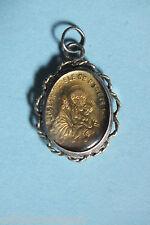 Médaille ancienne Argent  SAINT JOSEPH & N.D FONT-ROMEU  Antique s.silver medal
