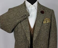 Harris Tweed Blazer Jacket Wedding Country 44R WONDERFUL BESPOKE JACKET 186