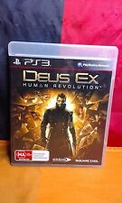 Deus Ex: Human Revolution - Sony PS3 PAL - Includes Manual