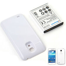 6500mAh Extended Battery for Samsung Galaxy S4 mini GT-i9190/i9195 + White Shell