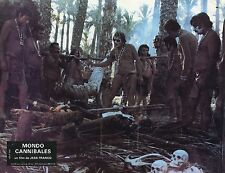 MONDO CANNIBALE JESS FRANCO 1980 VINTAGE PHOTO LOBBY CARD N°8