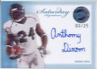 anthony dixon rookie rc auto autograph mississippi state msu college #/25 2010