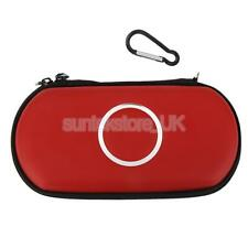 Red Zipper Portable Carry Case Cover Bag Pouch For SONY PSP 1000 2000 3000