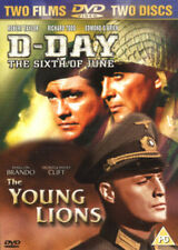 D-DAY THE SIXTH OF JUNE & THE YOUNG LIONS FOX 2 DISC BOXSET UK REGION2 DVD L NEW