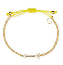 New Gold Color  Plated Dot Wishing Arrow Good Luck Bracelet