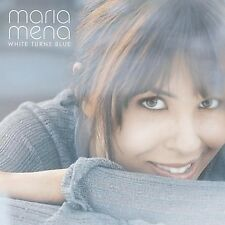 White Turns Blue - Maria Mena (2004, CD NEUF)