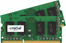 Crucial 16GB Kit (2 x 8GB) DDR3L-1600 1600 MT/S SODIMM Memory (16GB KIT (8GBx2)