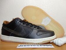 Nike Dunk Low Premium SB QS BLACK RAIN Sz 8 100% Authentic Retro 504750 011