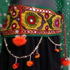 kuchi Banjara skirt tassel Belly Dance textile costume waist belt hip scarf ATS