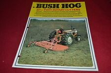 Bush Hog 126 Rotary Cutter Dealer's Brochure YABE10