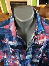 "ROBERT GRAHAM NWT Mens ""Picnic""L/S Shirt Sz M RT $298"