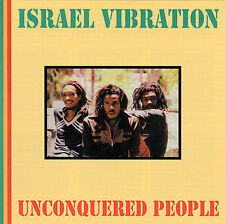 ISRAEL VIBRATION - Unconquered People CD ** Excellent Condition RARE **
