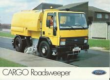 FORD CARGO ROAD SWEEPER TRUCK LORRY SALES 'BROCHURE'/SHEET  MID 80's
