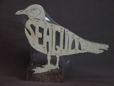 NEW Seagull Ocean  Bird Wooden Puzzle Toy Amish Made Scroll Saw