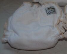 Mother-ease Sandy bamboo fitted cloth diaper (size Large)