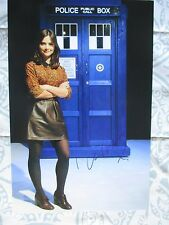 JENNA LOUISE COLEMAN Signed 8x12 photo DC/COA (DOCTOR WHO).DR
