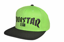 Fourstar Highspeed sample snapback cap hat Lime Green - one size 114