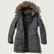 NEW ABERCROMBIE & FITCH Arctic Parka - women's jacket size M Medium    NEW
