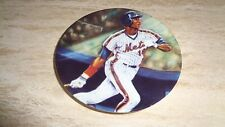 1987 Sports Impressions Baseball Mini Plate - Darryl Strawberry - New York Mets