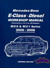 SHOP MANUAL MERCEDES SERVICE REPAIR BOOK CDI W210 W211