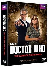 DOCTOR WHO: Complete Eighth Series, Season 8, (5-Disc DVD Set), New, Plays US&CA