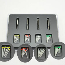 1 Box Dental Screw Thread Fiber Set 20 pcs Fiber Post & 4 Drills Free Shipping