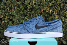 NIKE ZOOM SB STEFAN JANOSKI CNVS PRM SZ 8.5 BLEACH DENIM PACK BLUE 705190 401
