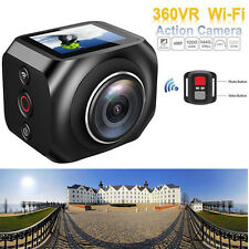 R360 190 Degree WiFi Action Sport Camera Full HD 1.5 Screen+Remote Control