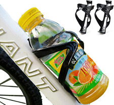 2X Bike Water Bottle Holder Mount Cage Bicycle Cycling Drink Cup Polycarbonate