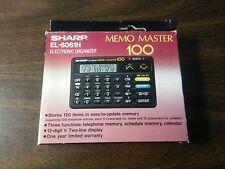 Electronic Organizer - Sharp - Memo Master