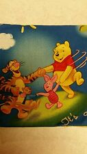 WINNIE THE POOH EEYORE  FQ  SEW QUILT KIDS'  FABRIC DISNEY FOR SPRINGS CRAFTS