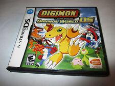 Digimon World DS Nintendo DS Lite DSi XL 3DS 2DS w/Case & Manual