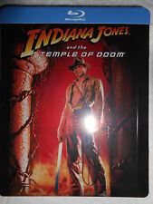 INDIANA JONES TEMPLE OF DOOM EXCLUSIVE ZAAVI STEELBOOK LIMITED EDITION NEW