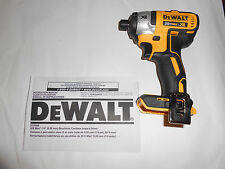 """NEW DeWalt DCF886 20V Max 1/4"""" Brushless Impact Driver Cordless XR"""