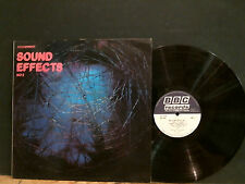BBC SOUND EFFECTS  NO 2   LP  1970  including sports car sounds   Lovely copy !!