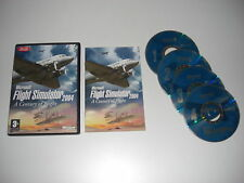 Microsoft FLIGHT SIMULATOR 2004 A Century Of Flight Pc Cd Rom FS2004 Base Game