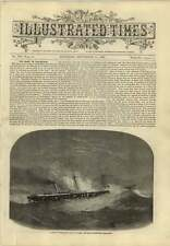 1869 Alarming Petrol Fire On Board The Lady Wodehouse Steamship