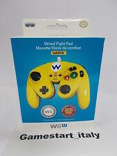 CONTROLLER REPLICA GAMECUBE WARIO EDITION - NINTENDO WII / WII U - NEW