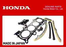 GENUINE HONDA K24 ENGINE BUILD REFRESH KIT HEAD GASKET TIMING CHAIN KIT BRACKET