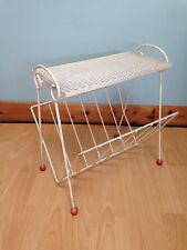 Vintage Retro Wire Magazine Rack Side Table Sputnik Feet