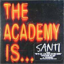 Santi - Academy Is - CD New Sealed
