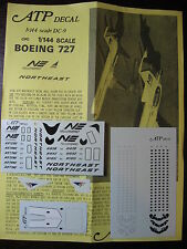 1/144 ATP DECALS DC-9 / BOEING 727 NORTHEAST DELTA DECALCOMANIE